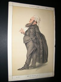 Vanity Fair Print 1873 Dr. Edward Vaughan Kenealy